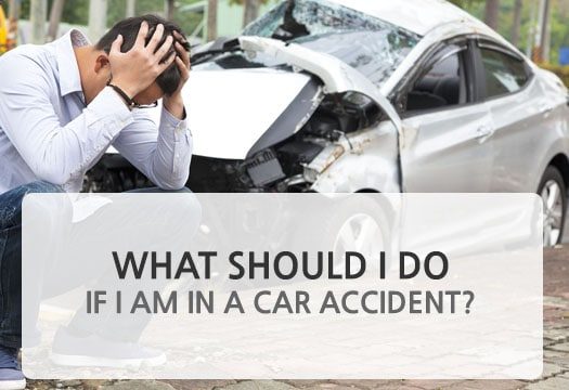 What should I do if I am in a car accident